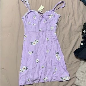 Lavender purple skater dress